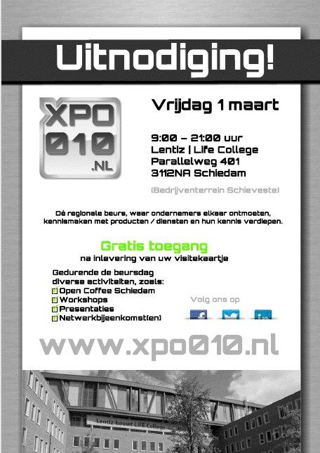 Uitnodiging XPO010 1-3-2013