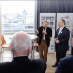 Officiele opening door wethouder Peter Groeneweg (EZ)