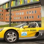 DaDaCup Rallyauto voor de entree