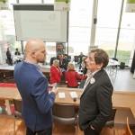 De Bibliotheek Schiedam was aanwezig om de activiteiten voor ondernemers toe te lichten