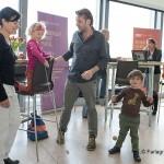 Zodat bezoekers en exposanten hun kinderen mee konden nemen